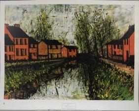 Somme River Lock by Bernard Buffet