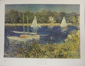 Bassin D'Argenteuil by Claude Monet