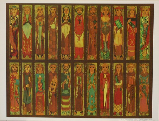21 California Mission Saints and Father Junipero Serra
