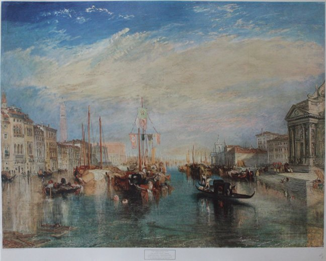 The Grand Canal, Venice by Joeseph Mallord William