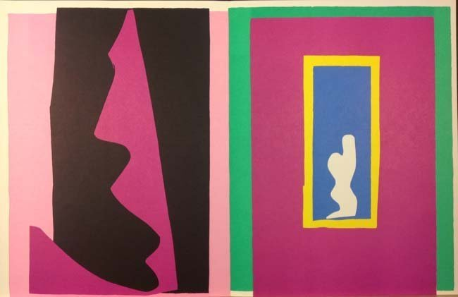 Destiny or le Destin from Jazz series by Henri Matisse