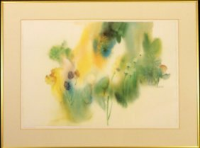 Abstract Flowers by Nechis