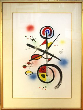 Abstract Image after Joan Miro
