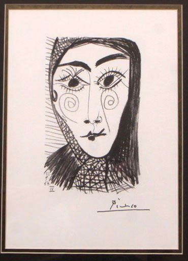 Abstract Portrait by Pablo Picasso
