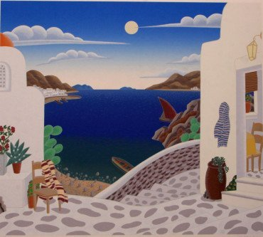 Aegean Cove by Thomas McKnight