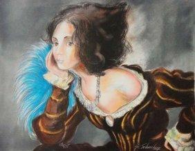 Renaissance woman (print 186/375)