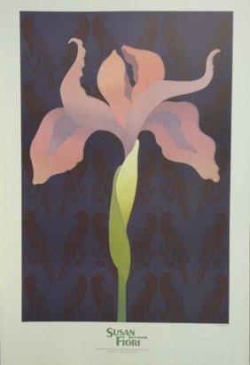 Susan Fiori Floral Exhibition Poster