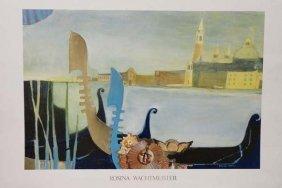 O Sole Mio Venice Poster