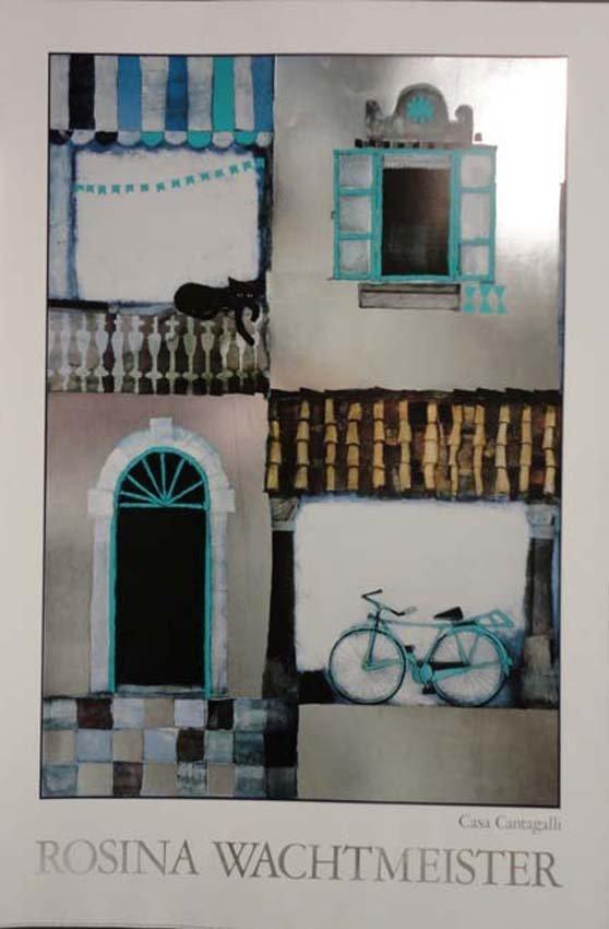 Casa Cantagalli Italian Poster
