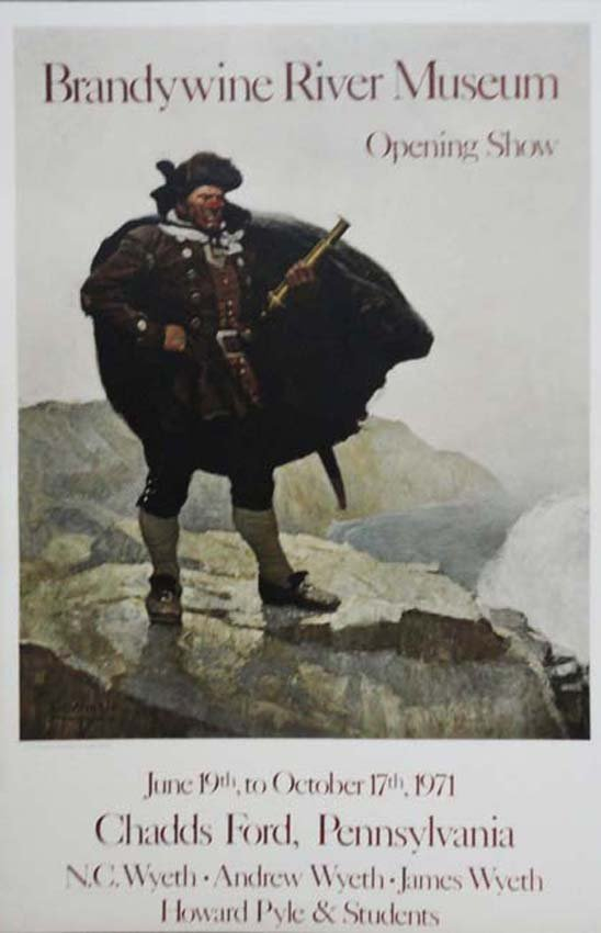 Wyeth Brandywine River Museum exhibition poster