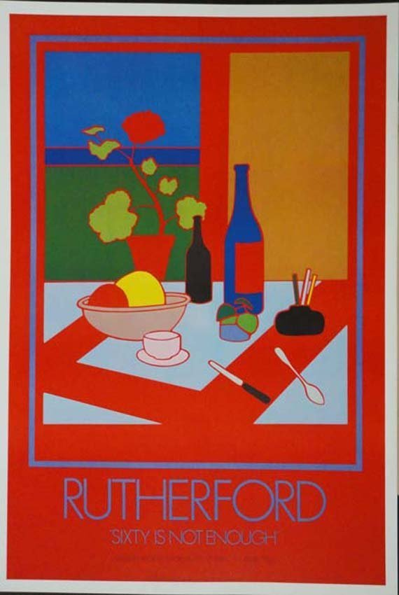 Rutherford exhibition poster