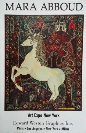 Mara Abboud Unicorn Poster