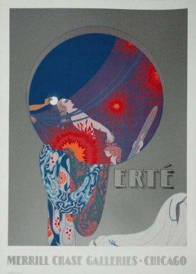 Merrill Chase Galleries Erte Poster