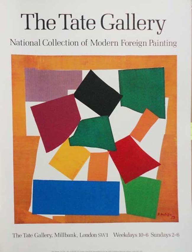 Tate Gallery Matisse poster