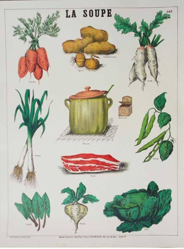 La Soupe Vintage French Poster