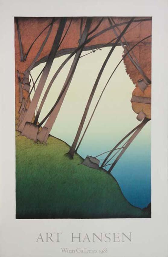 Art Hansen exhibition poster