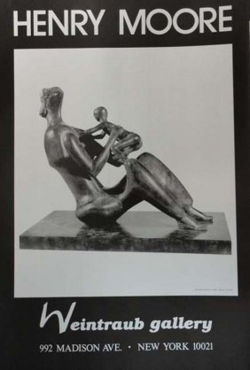 Henry Moore poster