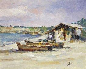 Midday Boats by Alex Perez