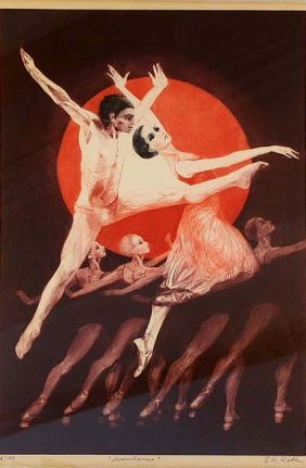 Moon Dance I by G. H. Rothe
