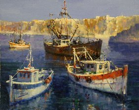 Morning Bay by Alex Perez