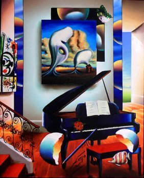 Music with Salvador Dali by Ferjo