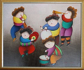 Musicians by I. Roybal