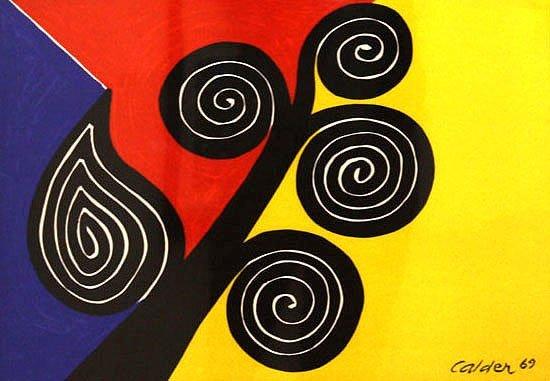 Abstract Symbol by Alexander Calder