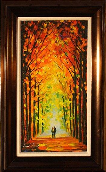 Autumn Trees by Leonid Afremov - 2