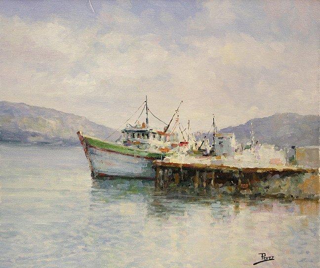 Fishing Boat's Pier by Alex Perez
