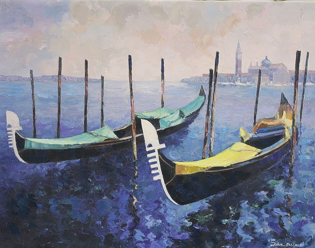 Gondolas by John Zaccheo