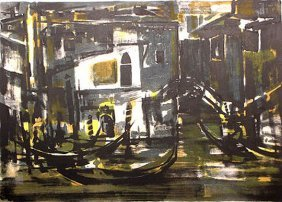 Gondoles Noirs by Marcel Mouly