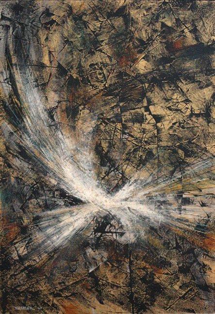 Abstract by Leonardo Nierman