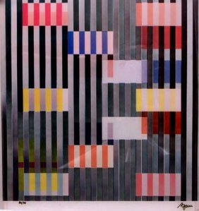 Color and Space by Yaacov Agam