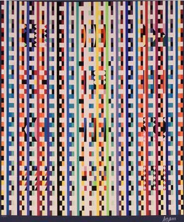 Beyond the Visible by Yaacov Agam
