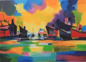 Amsterdam by Marcel Mouly