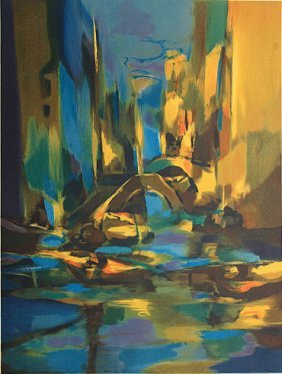 Canal Venise by Marcel Mouly