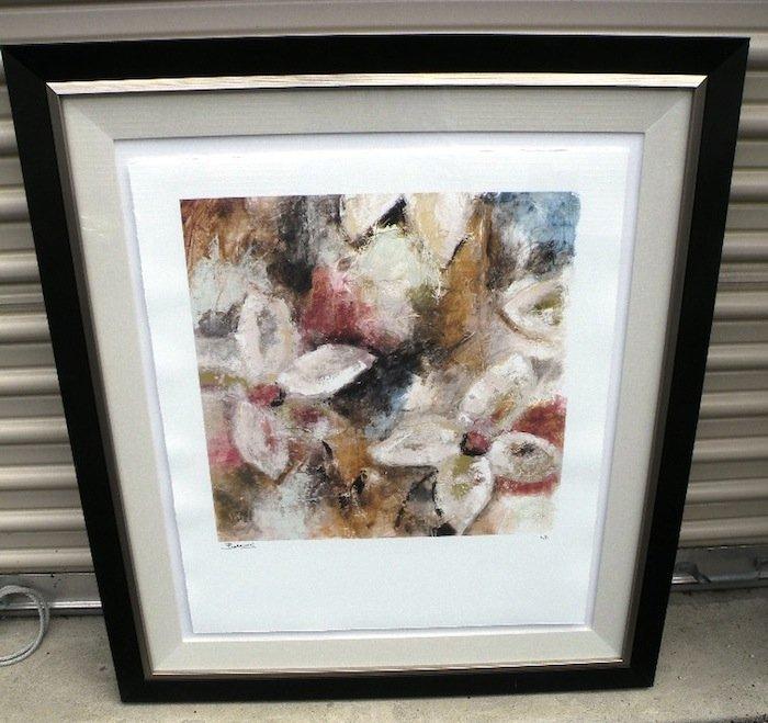 Flamboyant II by Jane Bellows Framed Print