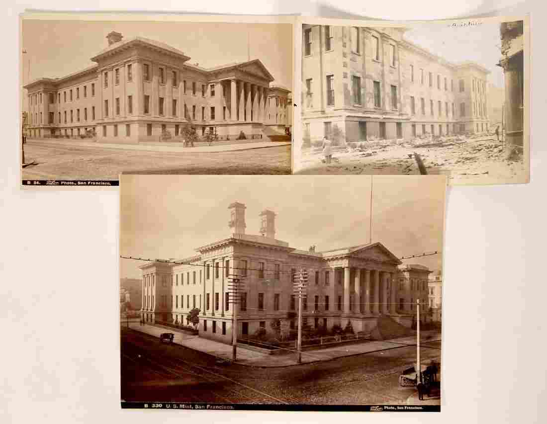 Photos from Press File of U.S. Mint, San Francisco