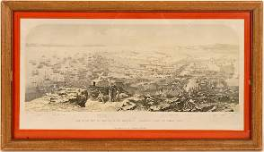 Print  View of San Francisco From Signal Hill  1851