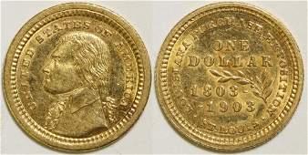 Louisiana Purchase Exposition Gold Dollar (101699)