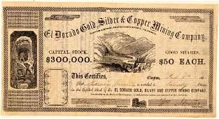 El Dorado Gold, Silver & Copper Mining Co. Stock