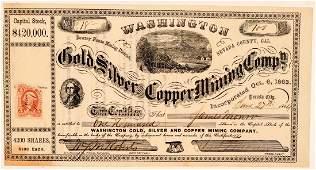Washington Gold Silver  Copper Mining Co Stock