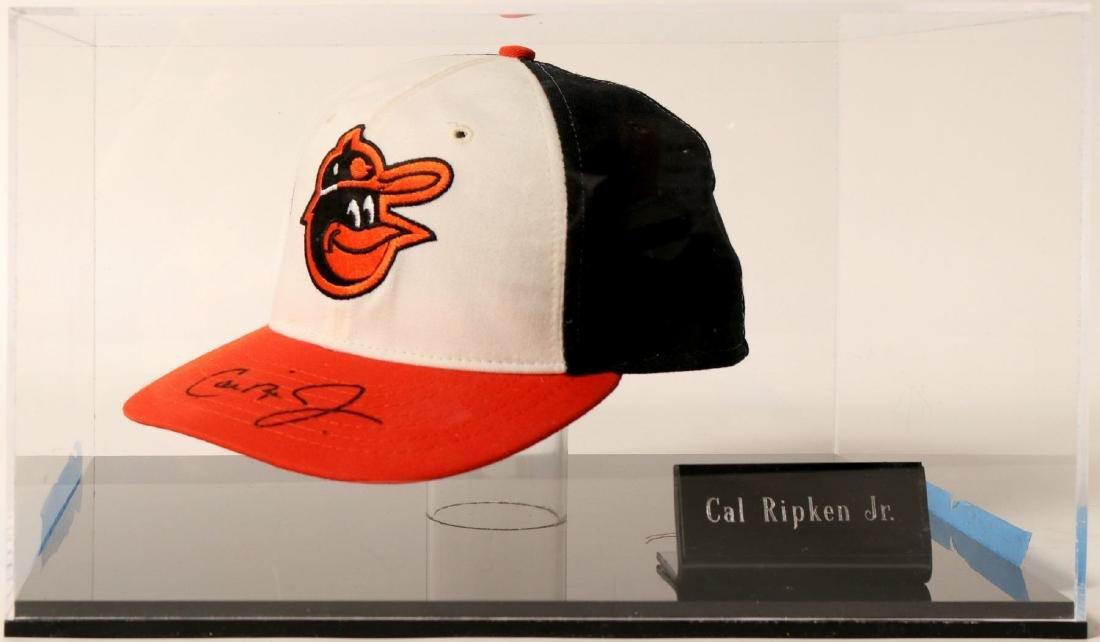 Cal Ripken Jr. signed ball cap (100585)