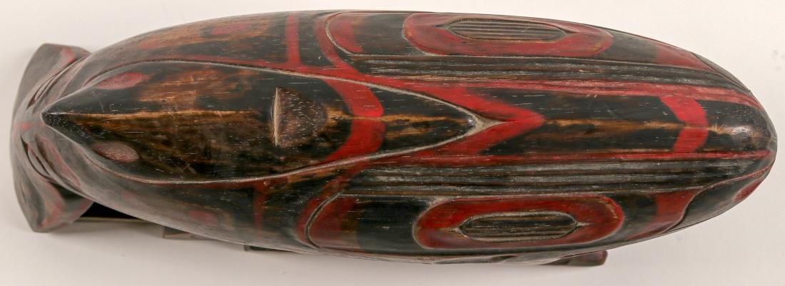 Haida Whale on Human Effigy, Vintage (91451) - 6
