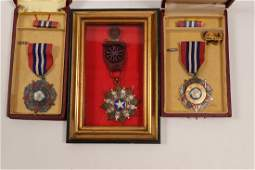 Taiwan Chinese Army Medals / 3 items (105396)