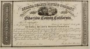 Eureka Quartz Mining Co Stock   72036