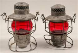 Railroad Lamps (Set of 2) (106000)