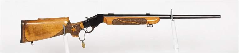 Customing Drop Lock 22 Rifle Falling Block Rifle NA