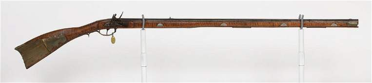 R. Mock Flintlock Full-Stock Rifle 1850 JMD-10336