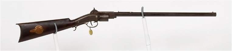 Warners Patent Revolving Rifle 1839-45 JMD-10669